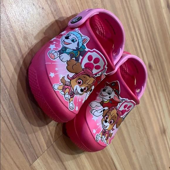 59a21e08e1c CROCS Shoes | Girls Fun Lab Paw Patrol Clog Size 7 | Poshmark
